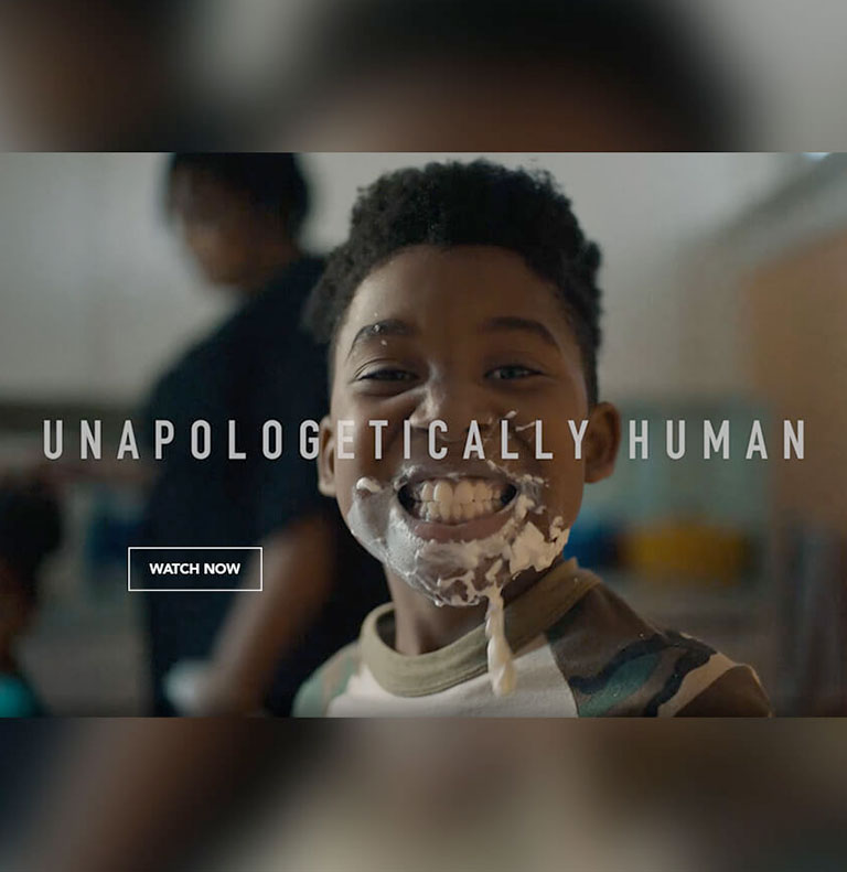 Unopologetically Human Campaign
