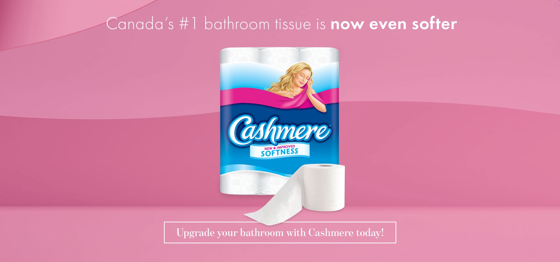 Canada's #1 bathroom tissue is now even softer